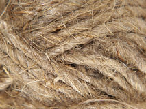 Clew of twine as background. Royalty Free Stock Photo