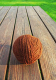 Clew of wool. Stock Image