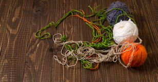 Clews of thread Royalty Free Stock Photo