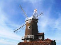 cley英国风车 库存图片