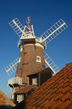 CLey风车诺福克英国 库存照片