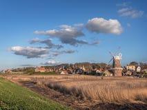 Cley em seguida o mar Norfolk Fotografia de Stock Royalty Free