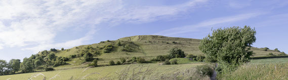 Cley Hill Wiltshire Royalty Free Stock Photography