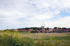 Cley windmill, Norfolk Royalty Free Stock Photo