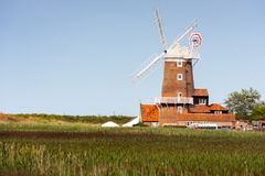Cley windmill north norfolk Royalty Free Stock Photos
