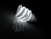 Clf bulb Royalty Free Stock Photos