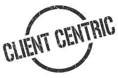 Cliënt centric zegel royalty-vrije illustratie