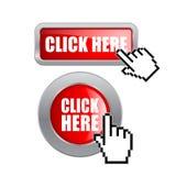Clicchi qui Fotografia Stock