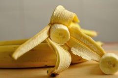 cliced香蕉 库存图片