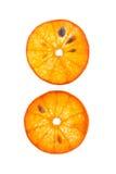 Clices de la mandarina Fotos de archivo libres de regalías