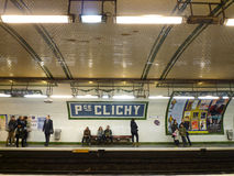 Clichy, Paris France Stock Photo