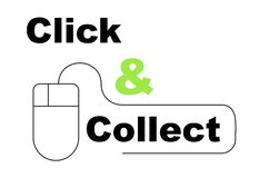 Free Click And Collect Concept Vector Stock Photography - 179696052
