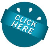 Click here button royalty free stock images