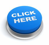 Click here button concept 3d illustration Royalty Free Stock Photography