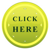 Click here button Stock Photography