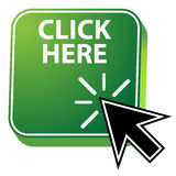 Click Here Icon Stock Photography