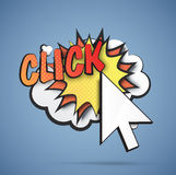 Click illustration Stock Photos