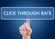 Click Through Rate Stock Images