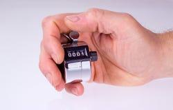 Clicker руки встречный Стоковая Фотография RF