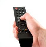 Clicker tv Stock Images