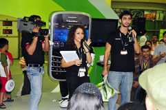 client 2008 de gitex de concours de mûre Image libre de droits