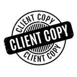 Client Copy rubber stamp Stock Photos