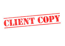 CLIENT COPY Stamp Stock Photography