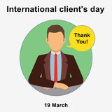 Client day  Royalty Free Stock Image