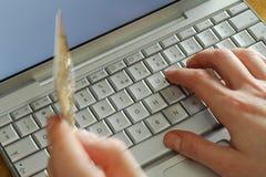 Client en ligne Photo libre de droits