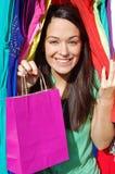 Client heureux Photographie stock libre de droits
