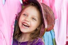 Client heureux Images stock