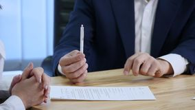 Client signing documents and gets car keys royalty free stock images