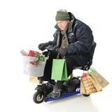 Client supérieur intense de Noël Images stock