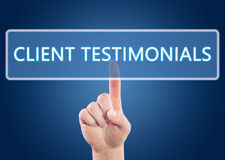 Client Testimonials Stock Photos