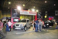 Cliente 2008 de Gitex - apresentação de Nissan Imagem de Stock