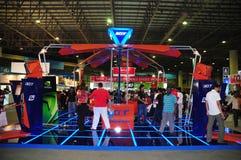 Cliente 2008 di Gitex - angolo di gioco di Acer Fotografie Stock Libere da Diritti