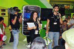 Cliente 2008 di Gitex - concorso della mora Immagine Stock Libera da Diritti