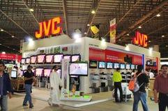 Cliente 2008 di Gitex - stalla di JVC Immagini Stock Libere da Diritti