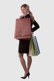 Cliente de femme d'affaires Photographie stock