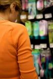 Cliente del supermercato Immagini Stock Libere da Diritti
