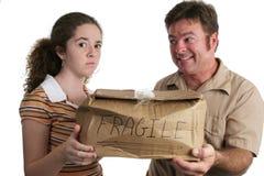 Cliente descontento Fotografía de archivo libre de regalías