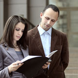cliente pronto a firmare l'affare Fotografia Stock Libera da Diritti