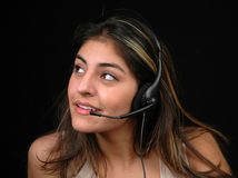 Cliente service-3 fotografia stock