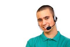 Cliente-servizio Immagine Stock