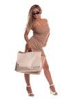 Cliente sexy Fotografia Stock Libera da Diritti