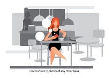 Clientes novos imagem de stock royalty free