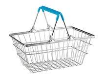 Clientes que hacen compras en el supermercado Imágenes de archivo libres de regalías