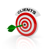 Clienti Fotografie Stock