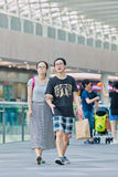 Clienti al centro commerciale di Livat, Pechino, Cina Immagine Stock Libera da Diritti