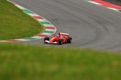 Clientiprogramma Mugello van testferrari F1 Royalty-vrije Stock Afbeeldingen